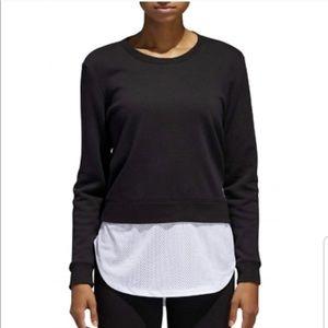 Adidas | sweatshirt jersey tunic • M